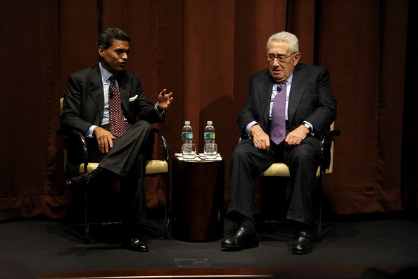 Image result for fareed zakaria with Henry Kissinger