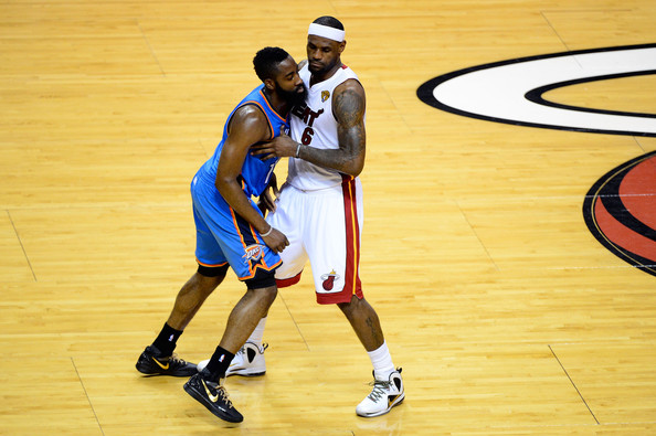 James Harden - 2012 NBA Finals - Game Three
