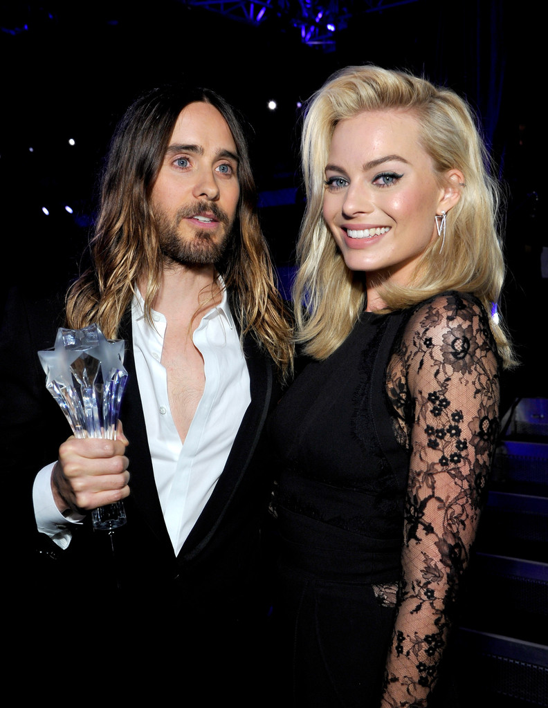 margot robbie and jared leto