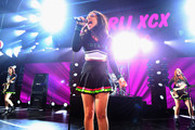 Charli XCX performs onstage during KISS 108's Jingle Ball 2014, presented by Market Basket Supermarkets at TD Garden on December 14, 2014 in Boston, Massachusetts.