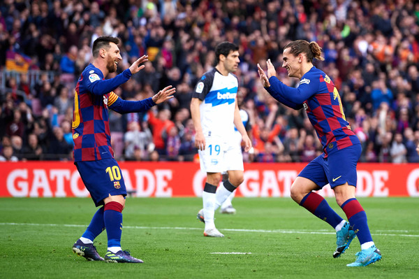 Image result for antoine griezmann barcelona vs deportivo alaves 2019