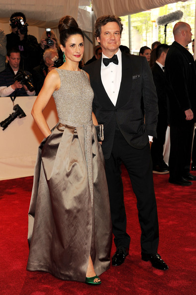 "Livia Giuggioli Livia Giuggioli and actor Colin Firth attend the ""Alexander McQueen: Savage Beauty"" Costume Institute Gala at The Metropolitan Museum of Art on May 2, 2011 in New York City."