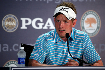 Luke Donald PGA Championship - Preview Day 2