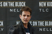 Joey McIntyre of New Kids On The Block attends the New Kids On The Block Press Conference at Madison Square Garden on January 20, 2015 in New York City.