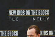 Donnie Wahlberg attends the New Kids On The Block Press Conference at Madison Square Garden on January 20, 2015 in New York City.