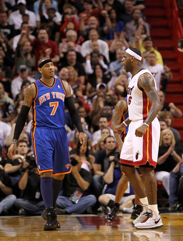 Vs James Knicks Lebron