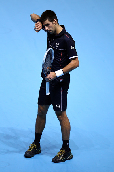 Novak Djokovic - ATP World Tour Finals - Day Four