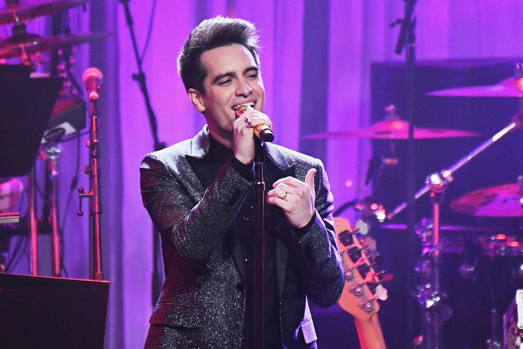 Mania Wallpaper Fall Out Boy Brendon Urie Photos Photos Pre Grammy Gala And Salute To