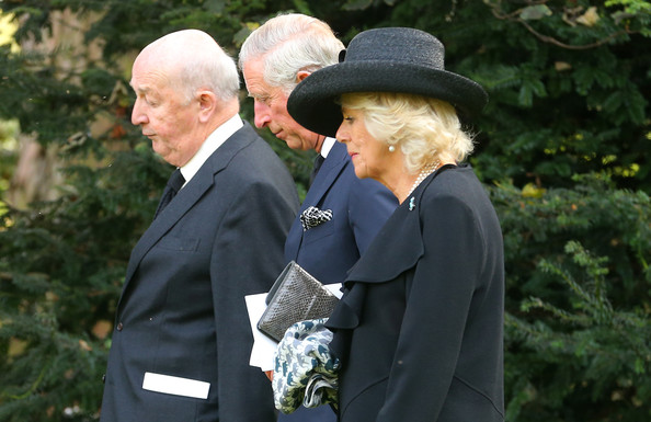 Funeral of the Dowager Duchess of Devonshire