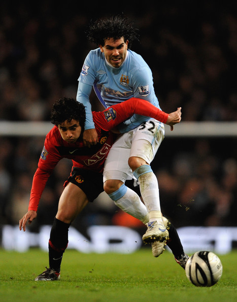 Image result for tevez manchester city vs man utd league cup