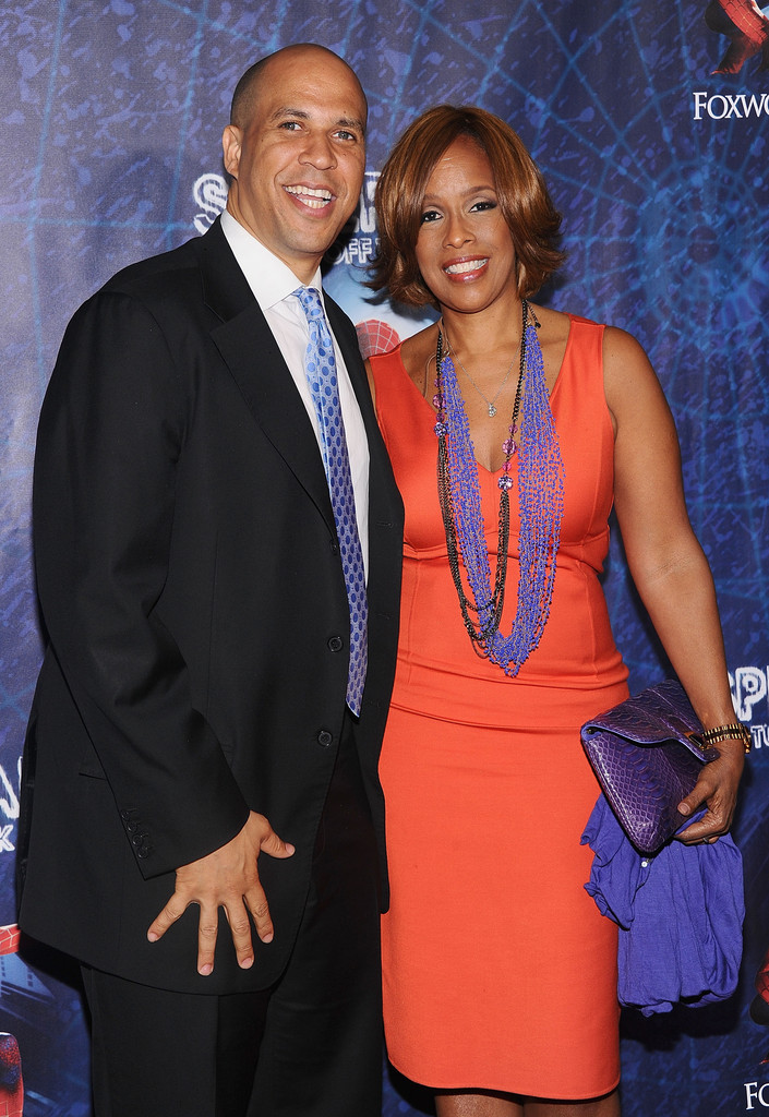 Gayle King Cory Booker Photos Photos  SpiderMan Turn
