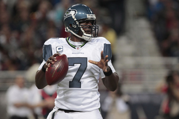 Tarvaris Jackson - Seattle Seahawks v St. Louis Rams