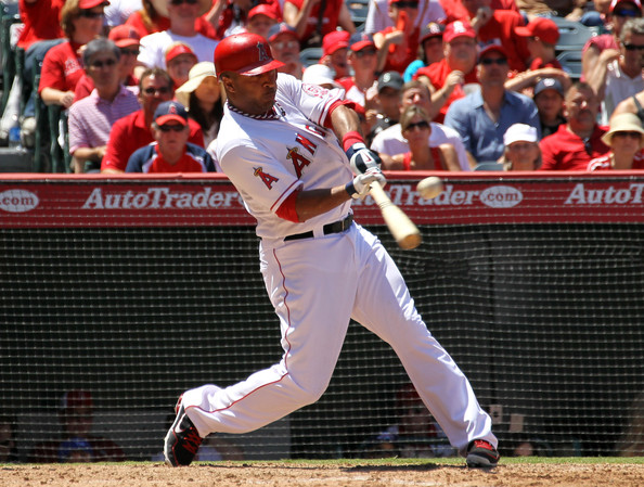 Vernon Wells - Seattle Mariners v Los Angeles Angels of Anaheim