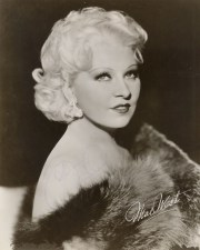 1930s style icon mae west - 1930's
