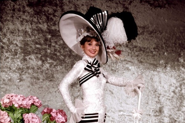 Audrey Hepburn as Eliza Doolittle in 'My Fair Lady'
