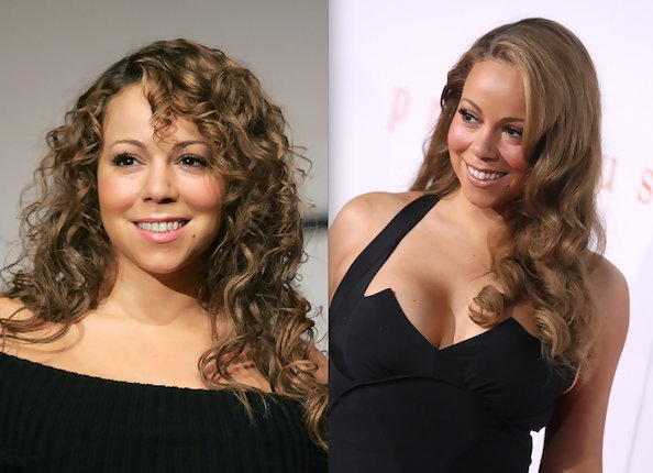 Mariah Careys Old School Curl Appeal  Mariah Carey  Zimbio