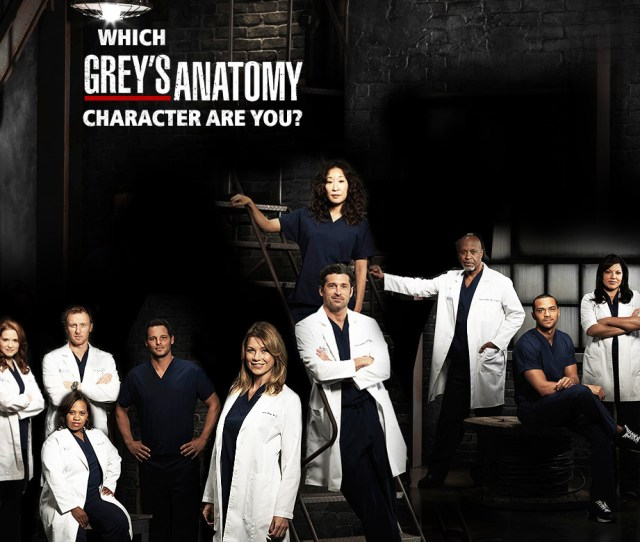Which Greys Anatomy Character Are You