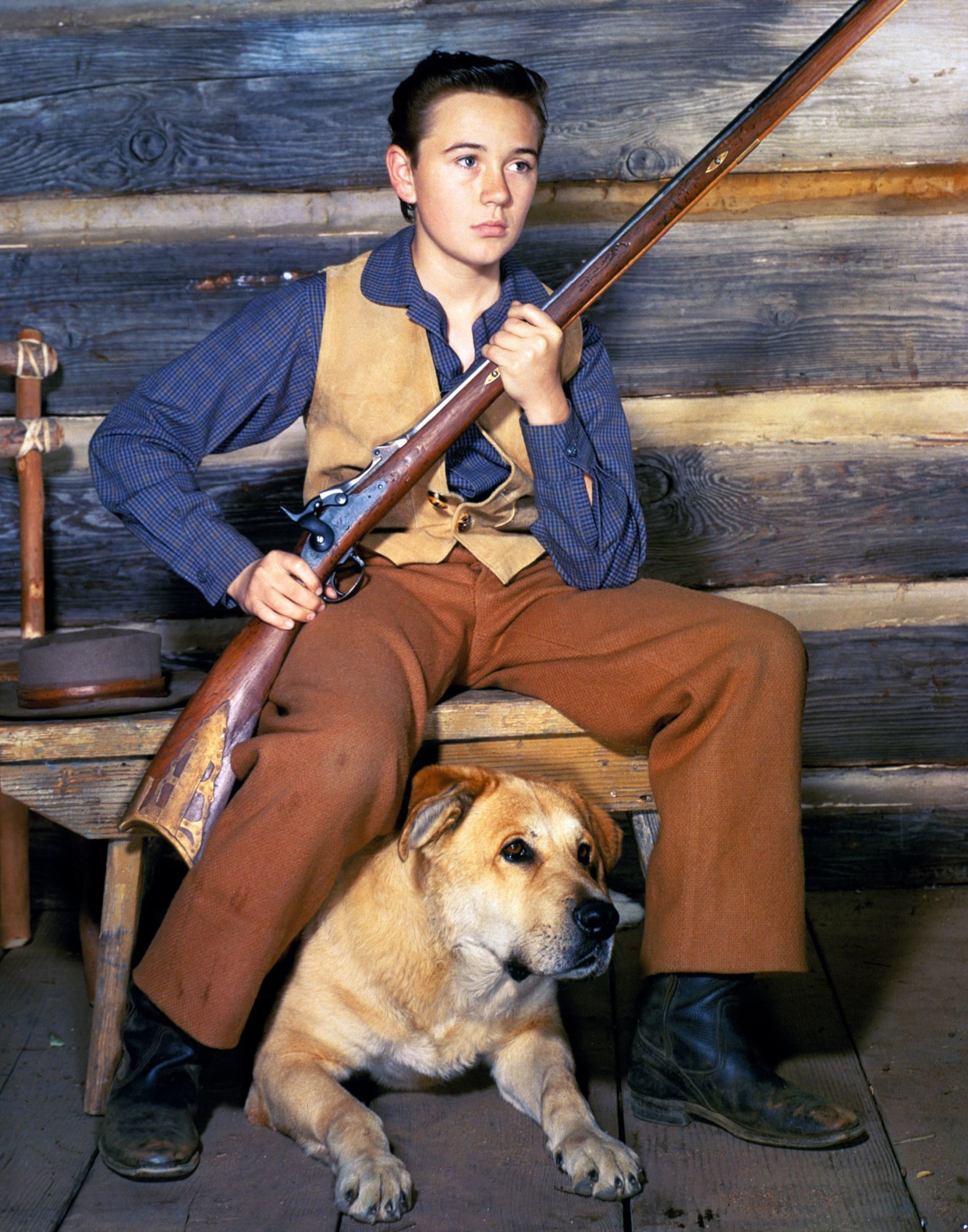 Travis Coates And Old Yeller