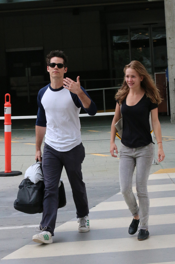Dylan O'Brien and Britt Robertson in Vancouver - Zimbio