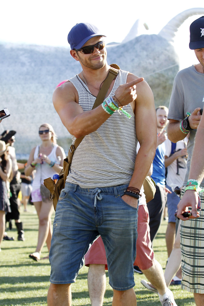 Kellan Lutz - Kellan Lutz and Friends at Coachella