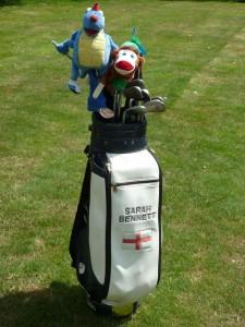 Sarah Bennett Golf bag