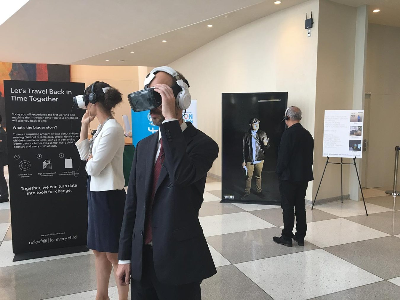 Immersive exhibition brings delegates closer than ever to refugees, displaced, and migrants during UNGA