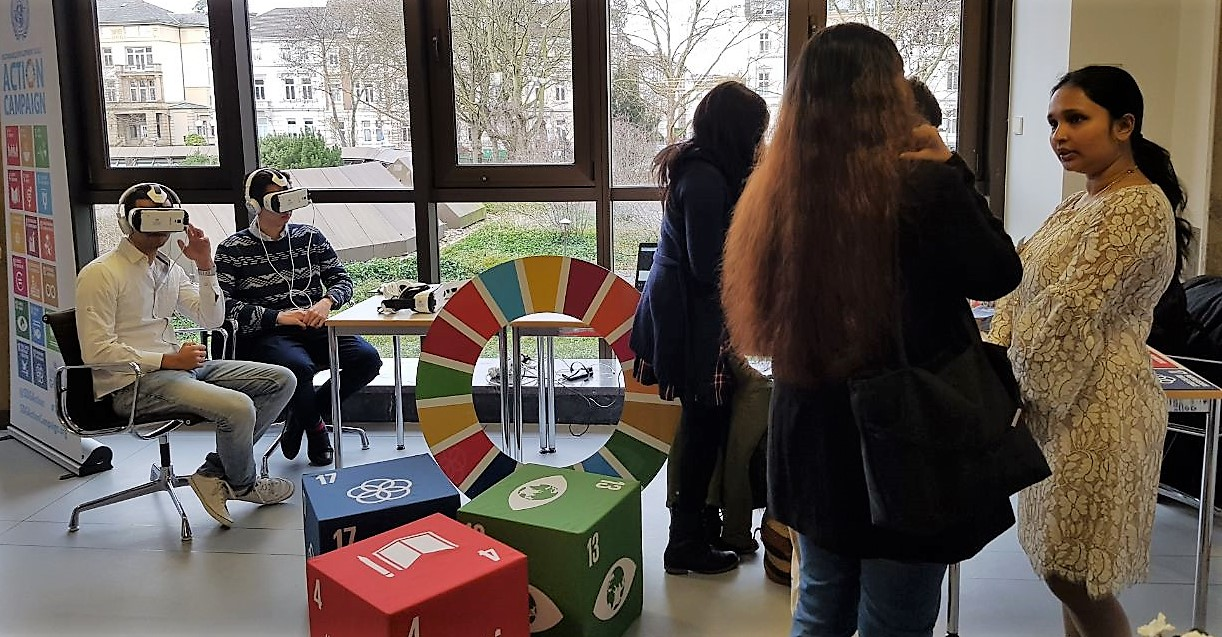 SDGs brought to first internship fair of the German Foreign Office in Bonn