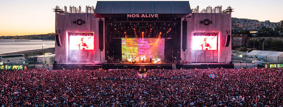 SDGs take center stage at the NOS Alive Music Festival in Lisbon July 12-14, 2018