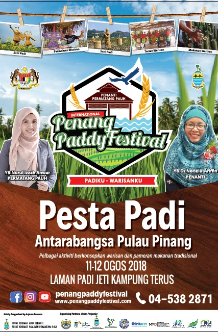 Sustainable Development Goals Alert in Malaysia at Penang Paddy Festival