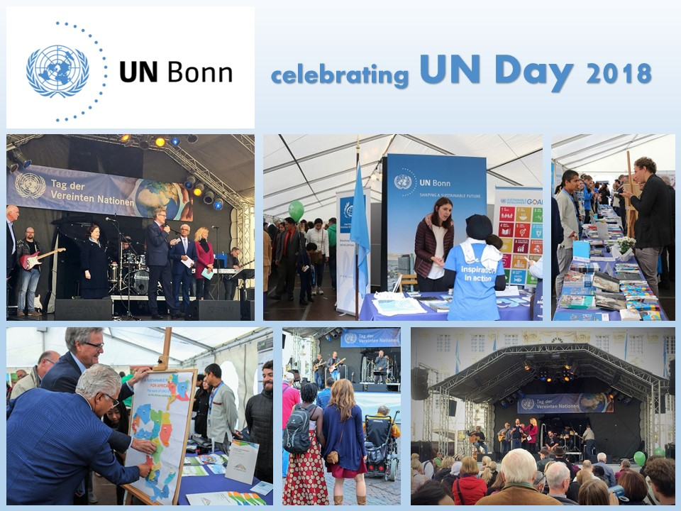 UN Day 2018 in Bonn: Acting for sustainable development, leaving no one behind