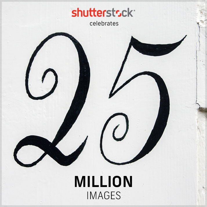 Shutterstock's Library Turns 25 (Million!): A Visual