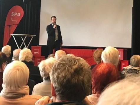 Neujahrsempfang SPD Waltrop 2018 Marcel Mittelbach