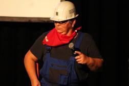 Politischer Aschermittwoch SPD Waltrop 2019 Bauarbeiter