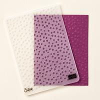 Dots décoratif texturé Impressions Gauffrage