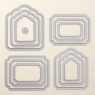 Tags & Labels Framelits Dies by Stampin' Up!