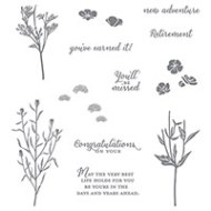 Wild about Flowers Photopolymer Stamp Set  by Stampin' Up!