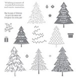 Peaceful Pines Photopolymer Stamp Set by Stampin' Up!