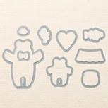 Bear Hugs Framelits Dies by Stampin' Up!