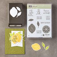Lemon Zest Wood-Mount Bundle