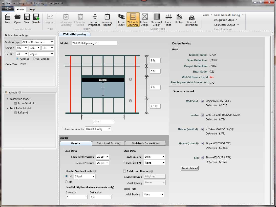 CFS Designer Software