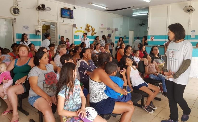 SEMANA MUNDIAL DO ALEITAMENTO MATERNO CONTOU COM ATIVIDADES DE CONSCIENTIZAÇÃO EM UNIDADES DE SAÚDE DE TATUÍ
