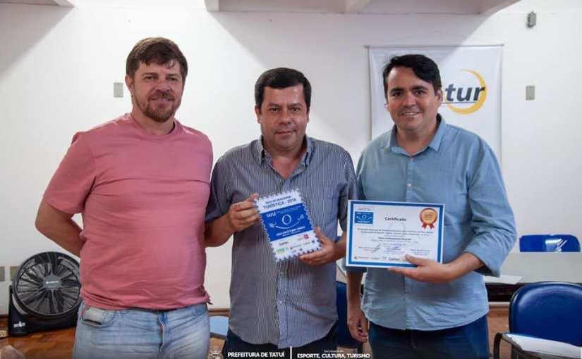 CENTRO CULTURAL DE TATUÍ SEDIOU A OITAVA REUNIÃO ORDINÁRIA DO COMTUR