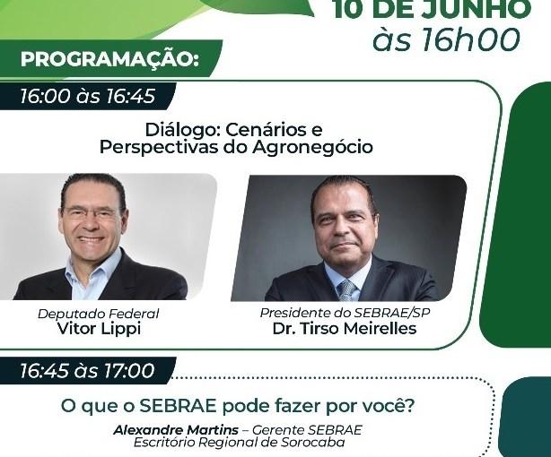 """ESCRITÓRIO REGIONAL DO SEBRAE SOROCABA PROMOVERÁ, DE FORMA GRATUITA  E ON-LINE, O """"I FÓRUM DE AGRONEGÓCIOS DO APL AGROTEC"""""""
