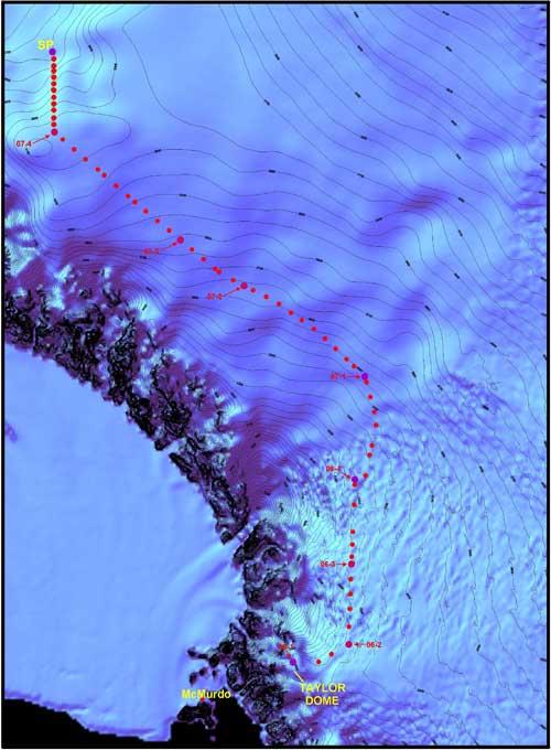 surface snow sampling