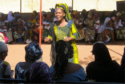Assétou Touré has devoted her life to battling the harmful practice of FGM. Photo courtesy of Assétou Touré.