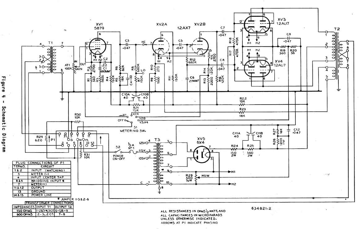 RCA BA-23A Program Amp Schematic