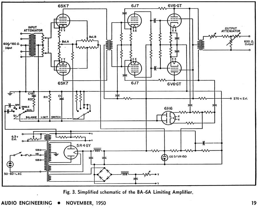 RCA BA-6A Limiting Amp Schematic