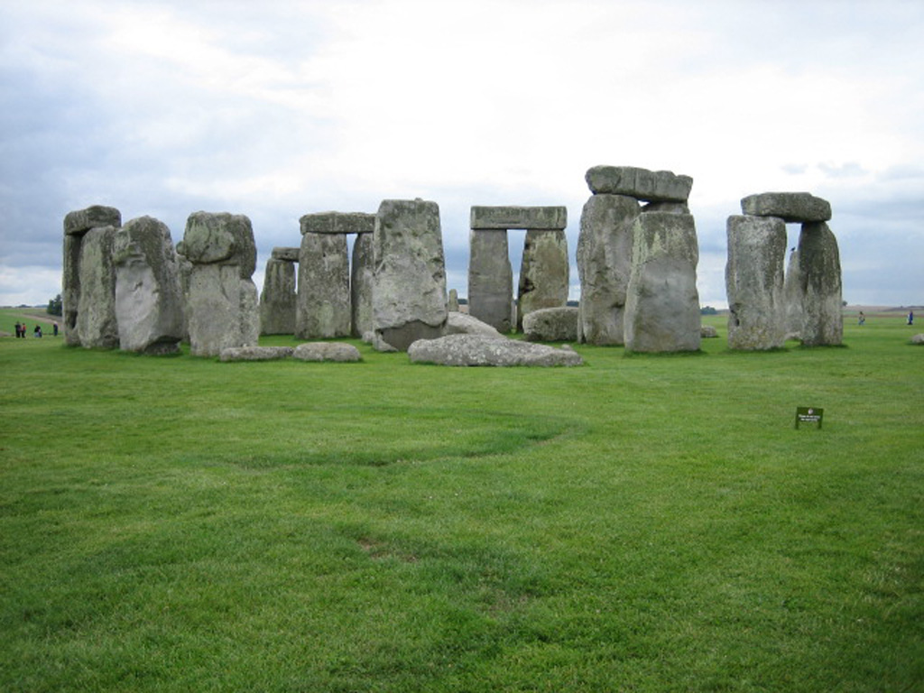 桌布下載 - 人文桌布 - 世界遺產-英國巨石陣