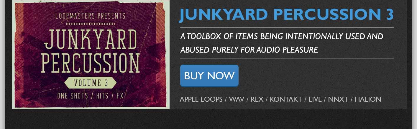 Junkyark Percussion Vol 3