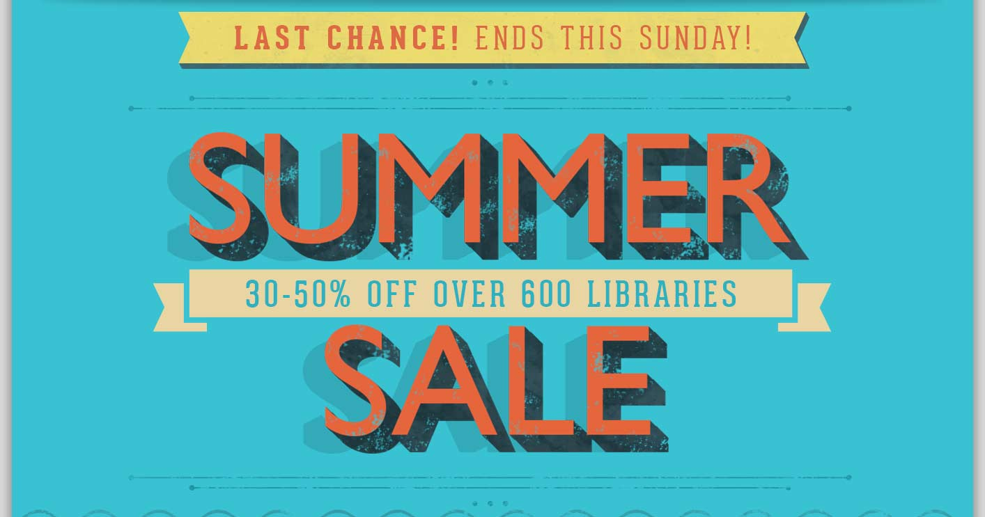 Summer Sale - 30-50% Off Over 600 Loops & Instruments